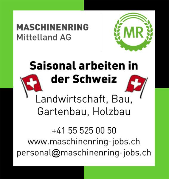 Saisonal arbeiten in der Schweiz