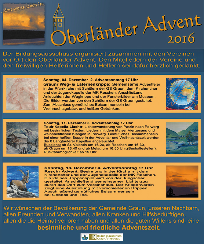 oberlander advent