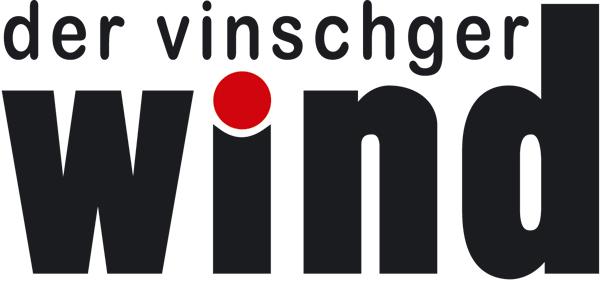 Wind logo schwarz